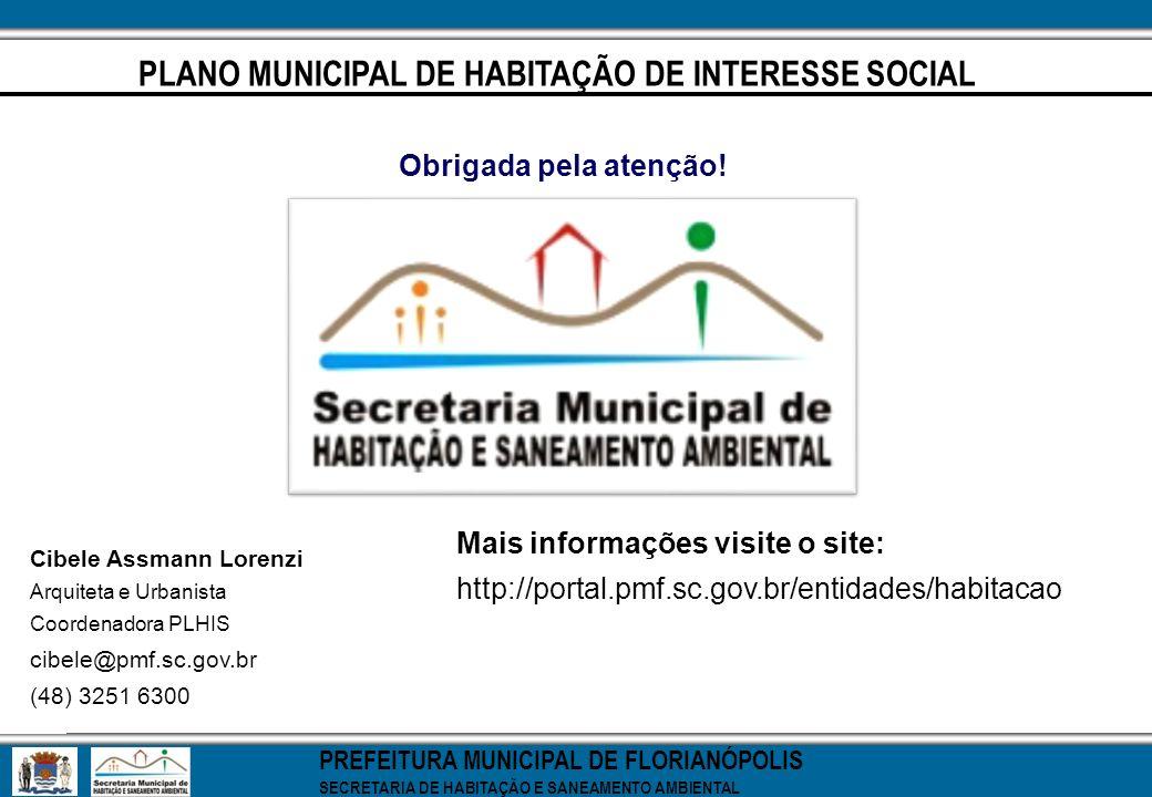 PLANO MUNICIPAL DE HABITAÇÃO DE INTERESSE SOCIAL