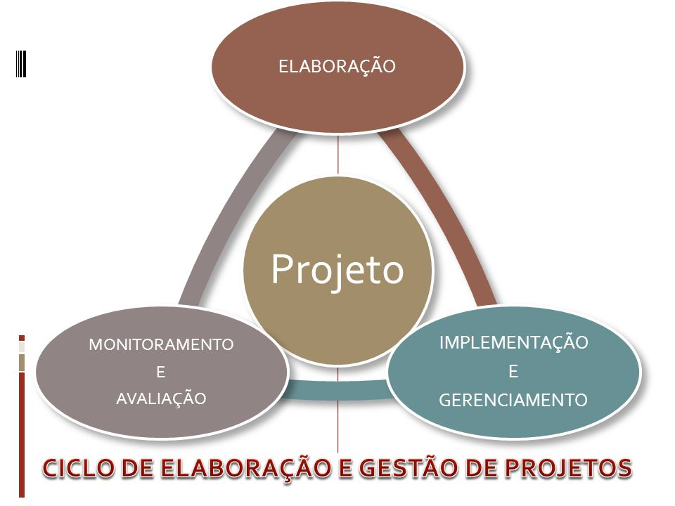CICLO DE ELABORAÇÃO E GESTÃO DE PROJETOS
