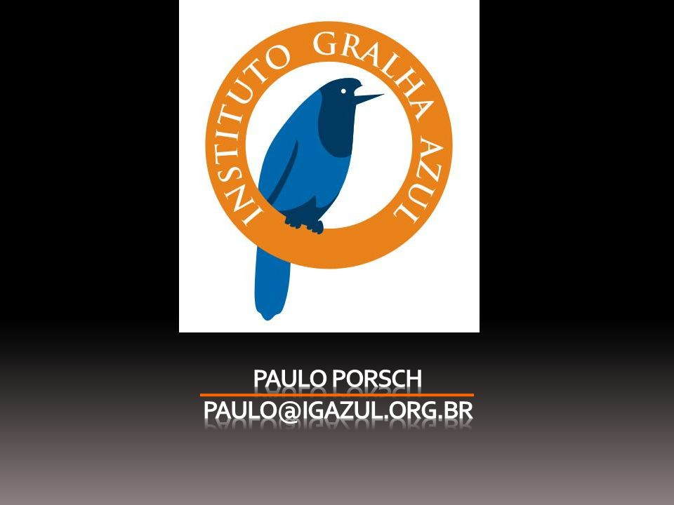 Paulo Porsch PAULO@IGAZUL.ORG.BR