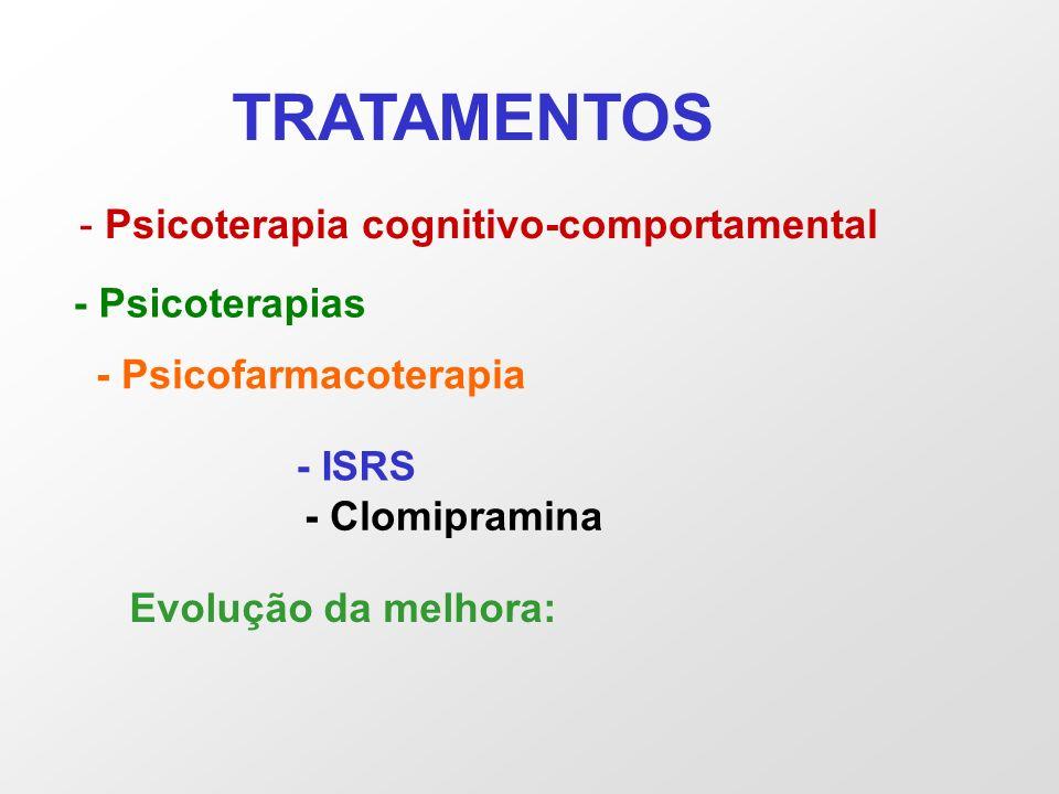 TRATAMENTOS Psicoterapia cognitivo-comportamental - Psicoterapias