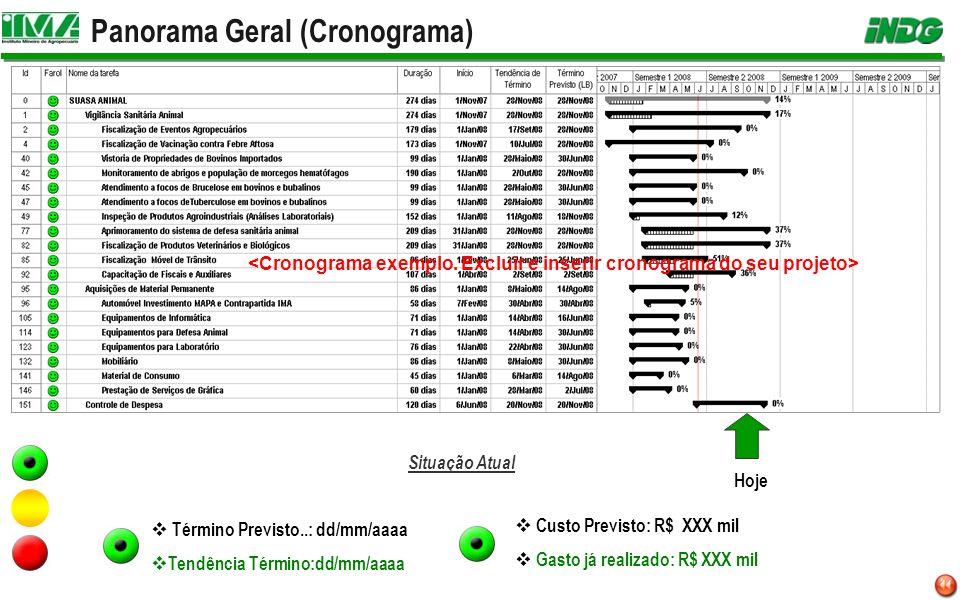 Panorama Geral (Cronograma)