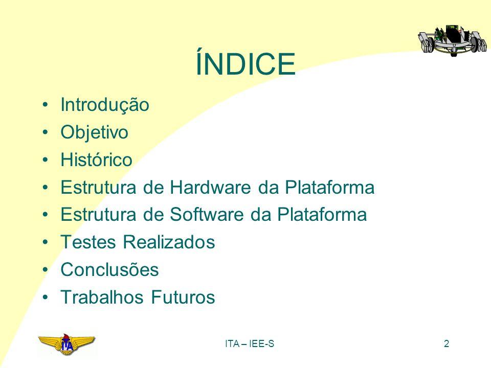 ÍNDICE Introdução Objetivo Histórico