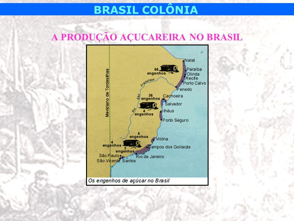 A PRODUÇÃO AÇUCAREIRA NO BRASIL