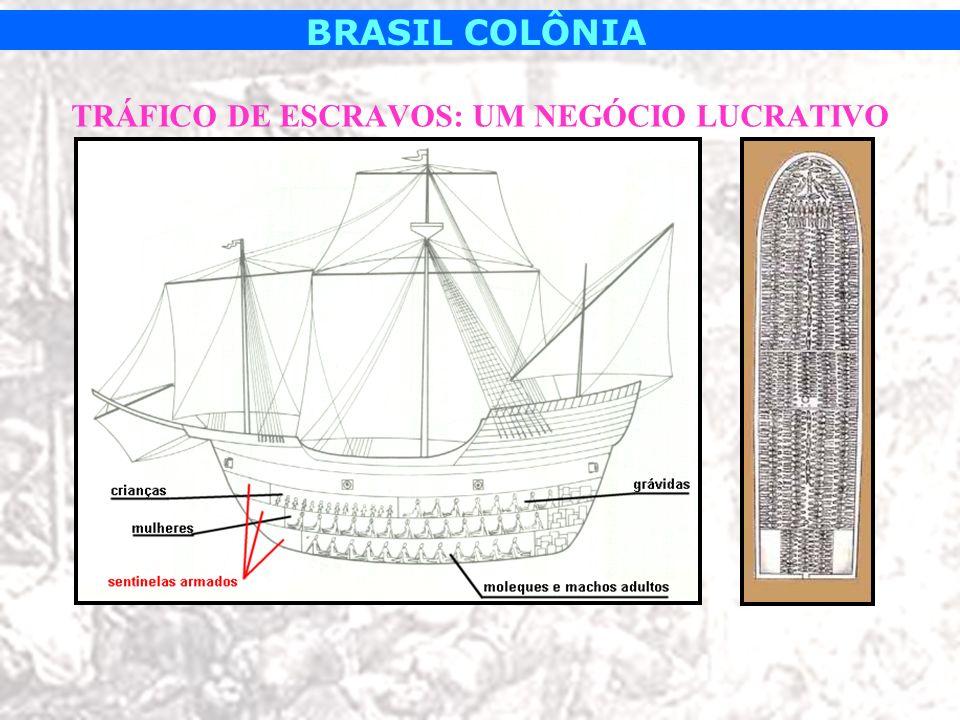 TRÁFICO DE ESCRAVOS: UM NEGÓCIO LUCRATIVO