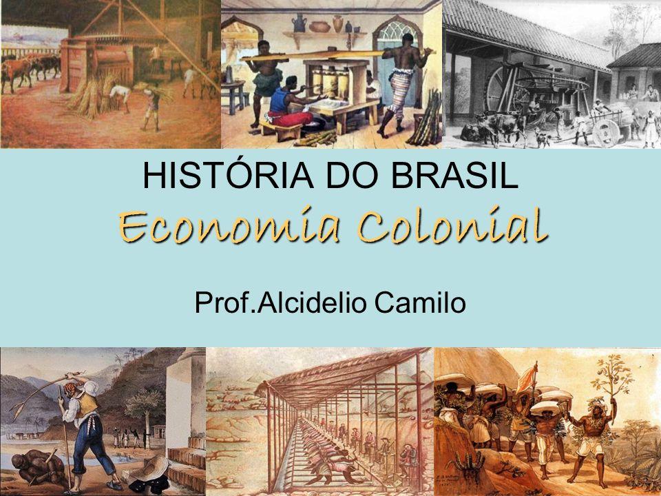 HISTÓRIA DO BRASIL Economia Colonial