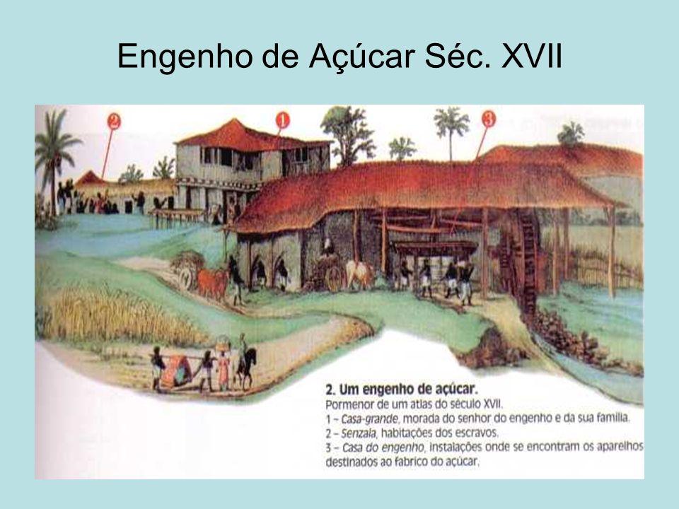 Engenho de Açúcar Séc. XVII