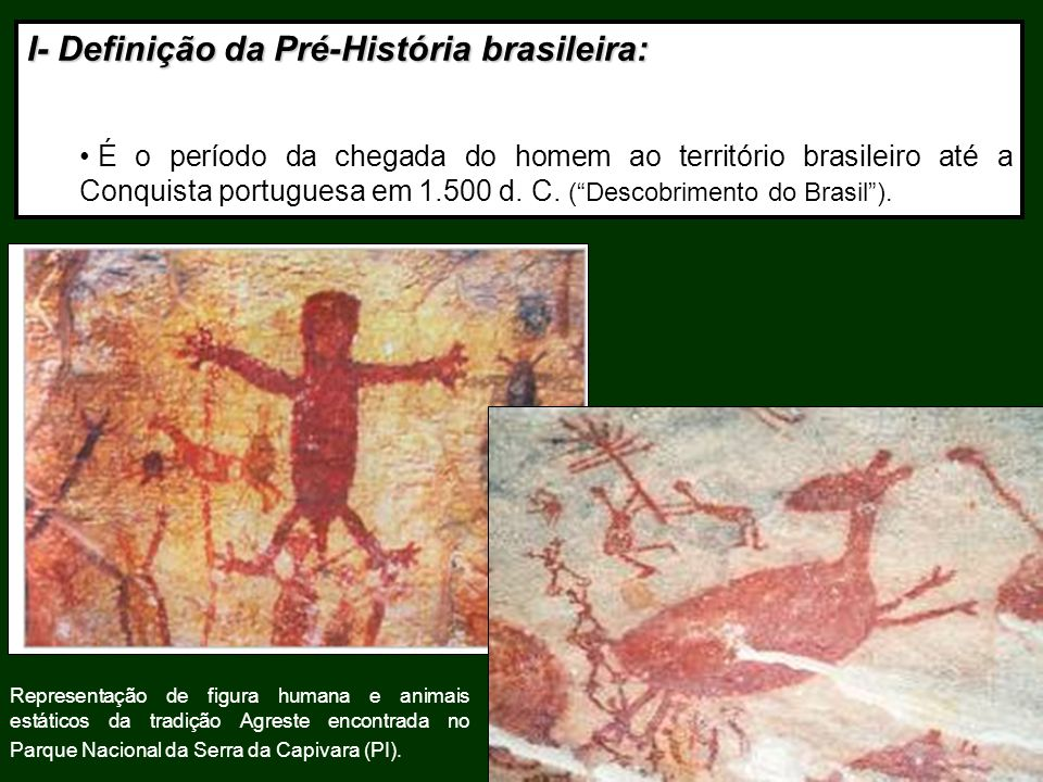 I- Definição da Pré-História brasileira: