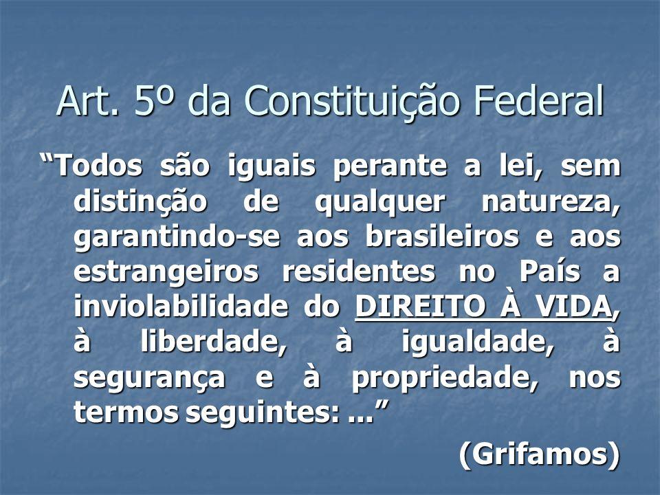 Art. 5º da Constituição Federal