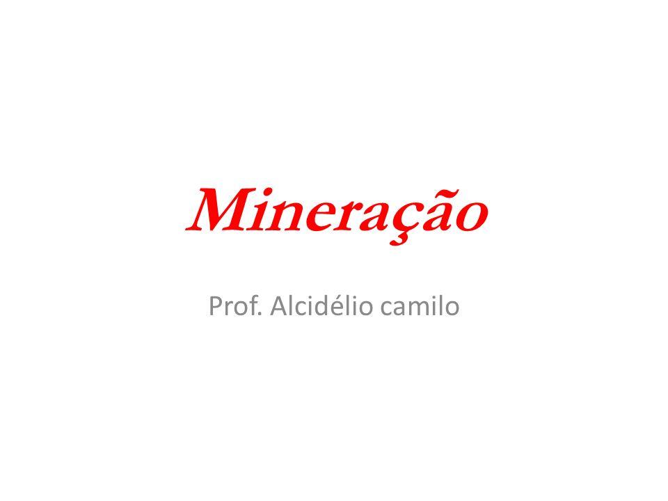 Mineração Prof. Alcidélio camilo