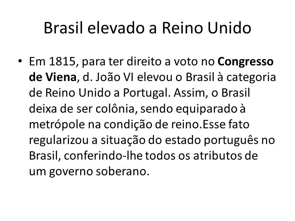 Brasil elevado a Reino Unido