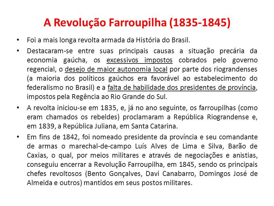 A Revolução Farroupilha (1835-1845)