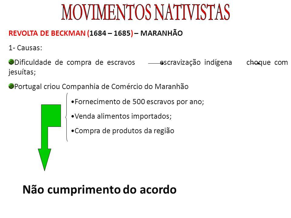 MOVIMENTOS NATIVISTAS