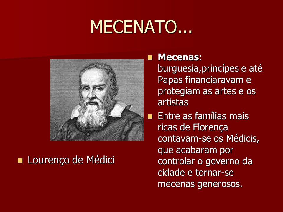 MECENATO... Lourenço de Médici