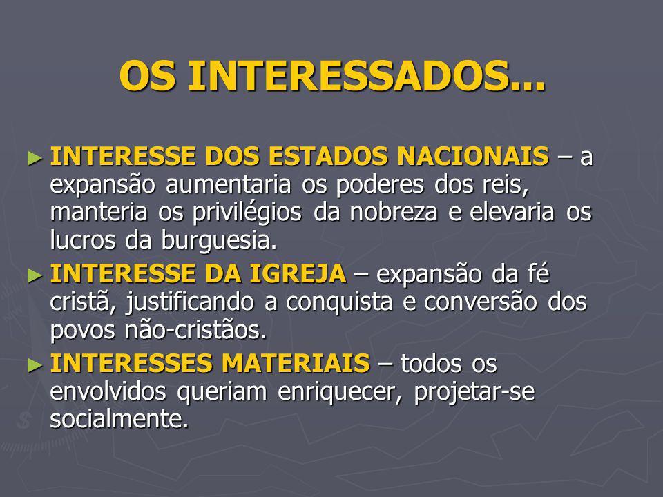 OS INTERESSADOS...