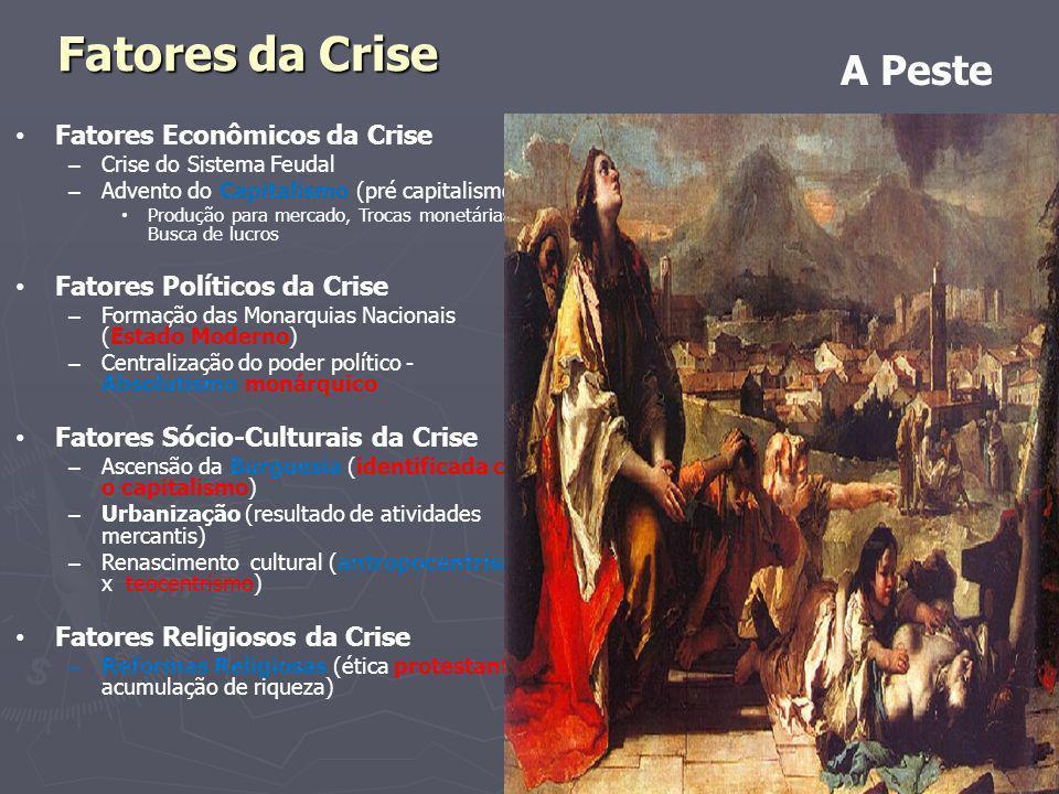 Fatores da Crise A Peste Fatores Econômicos da Crise
