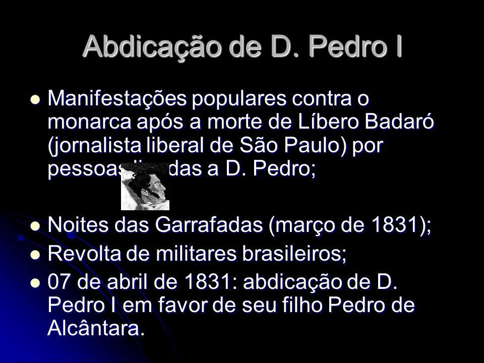 Abdicação de D. Pedro I