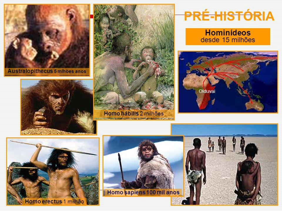 Australopithecus 5 mlhões anos