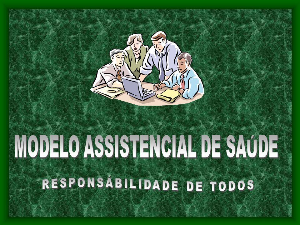 MODELO ASSISTENCIAL DE SAÚDE RESPONSÁBILIDADE DE TODOS