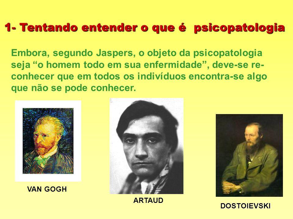 1- Tentando entender o que é psicopatologia