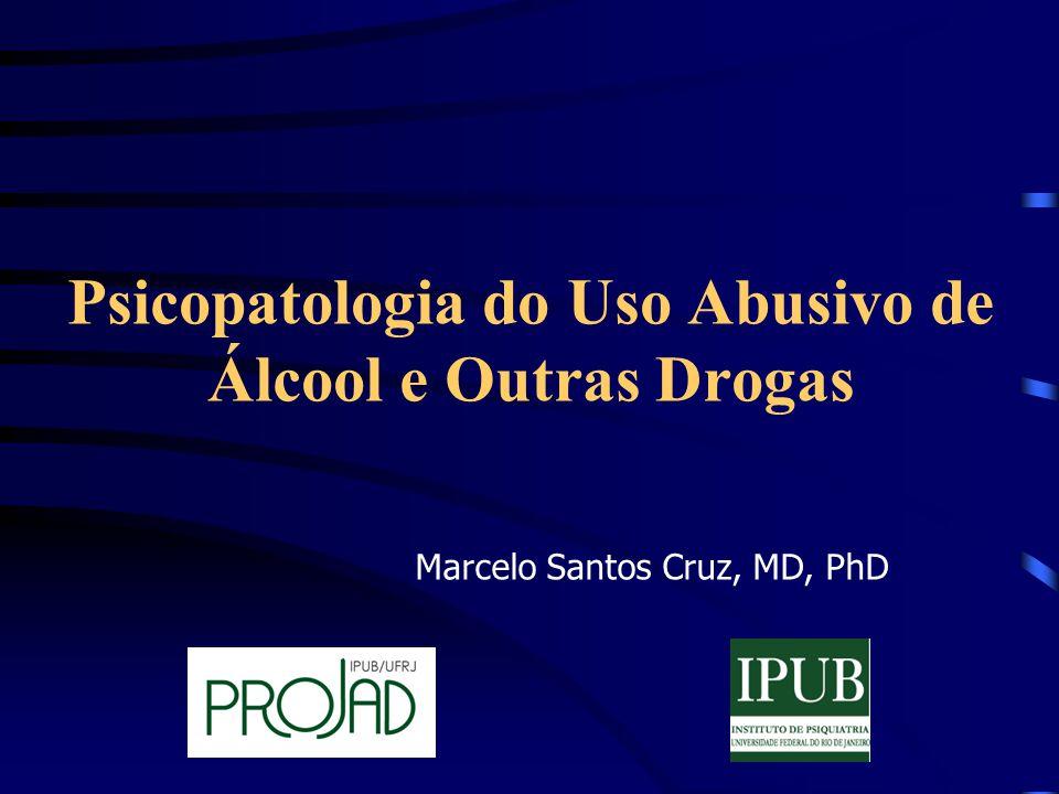 Psicopatologia do Uso Abusivo de Álcool e Outras Drogas