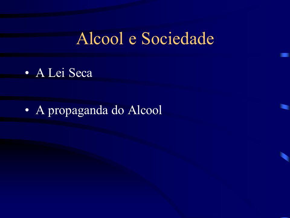 Alcool e Sociedade A Lei Seca A propaganda do Alcool