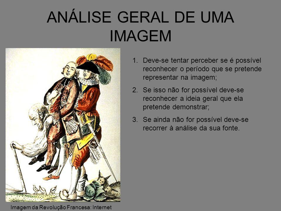 ANÁLISE GERAL DE UMA IMAGEM