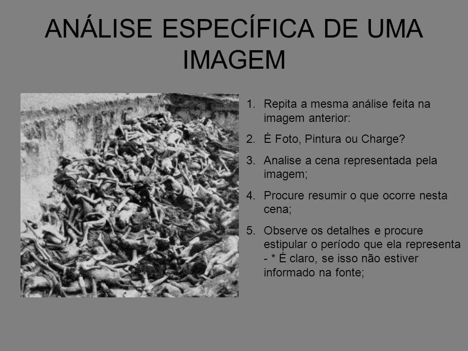 ANÁLISE ESPECÍFICA DE UMA IMAGEM