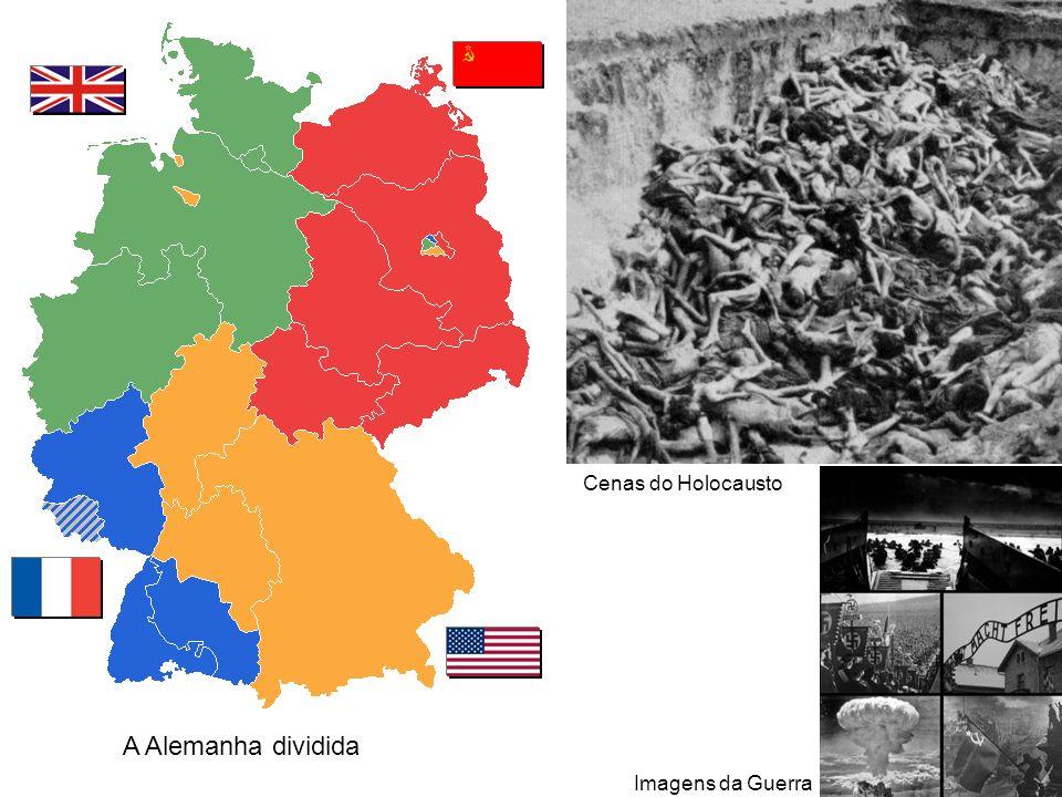 Cenas do Holocausto A Alemanha dividida Imagens da Guerra