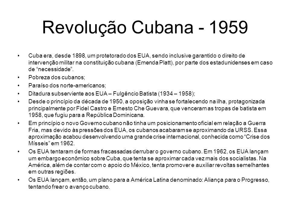 Revolução Cubana - 1959