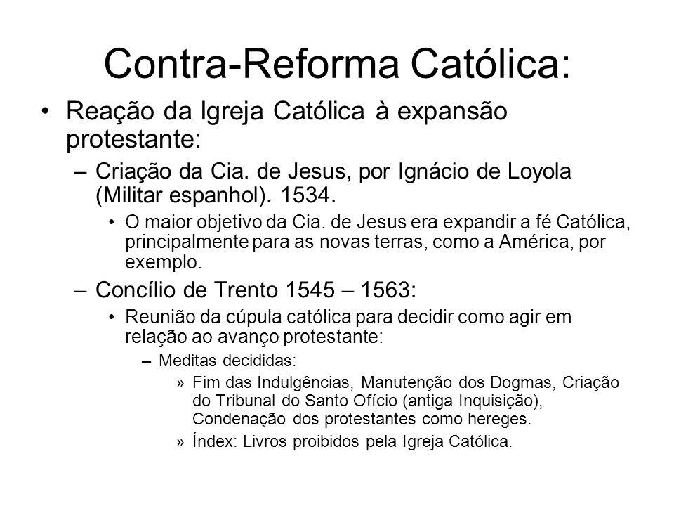 Contra-Reforma Católica: