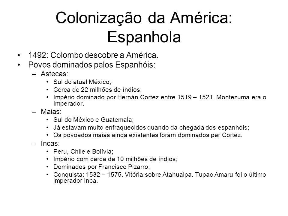 Colonização da América: Espanhola