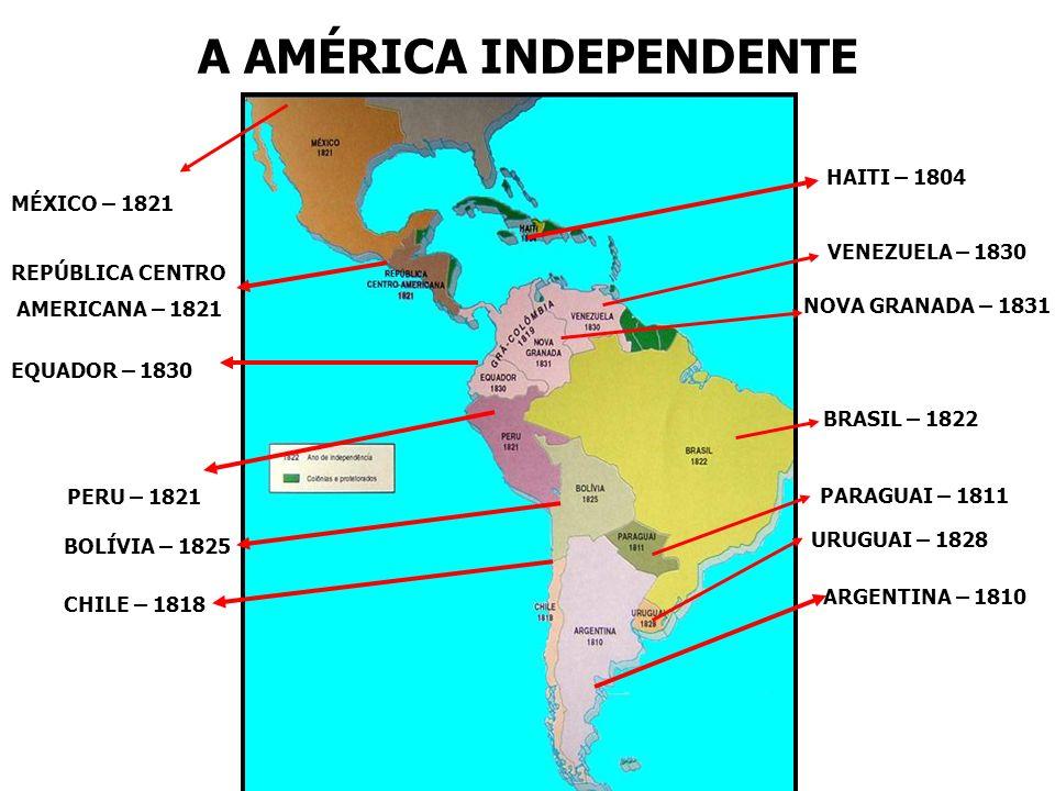 A AMÉRICA INDEPENDENTE