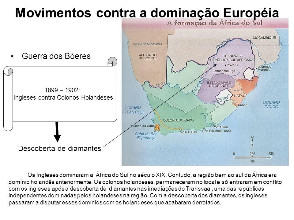 Movimentos contra a dominação Européia