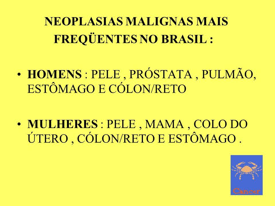 NEOPLASIAS MALIGNAS MAIS