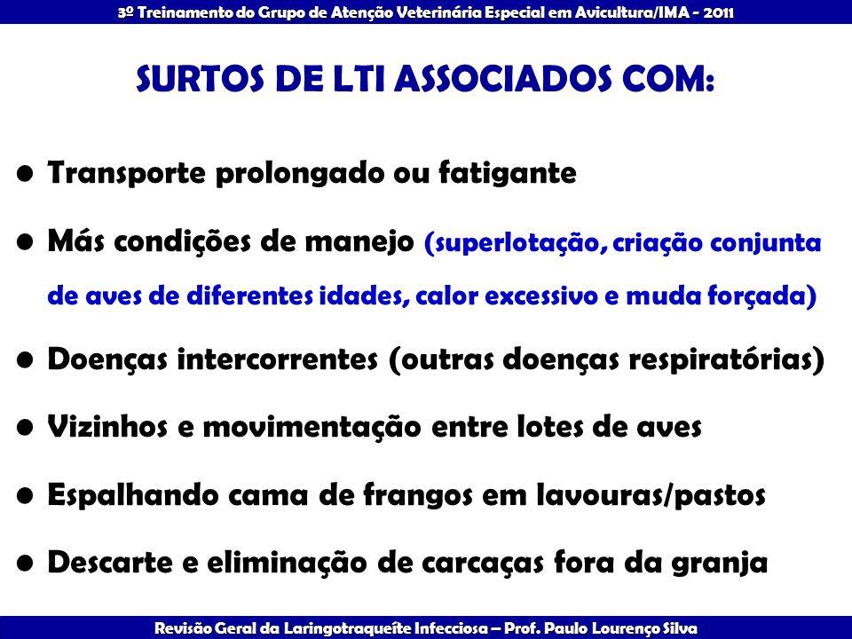 SURTOS DE LTI ASSOCIADOS COM: