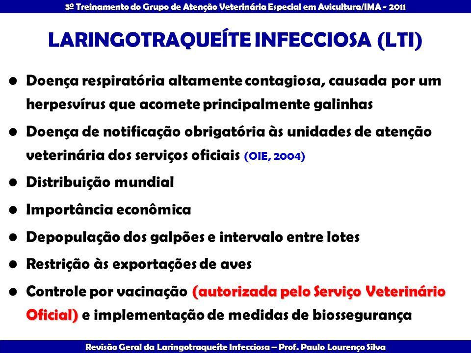 LARINGOTRAQUEÍTE INFECCIOSA (LTI)