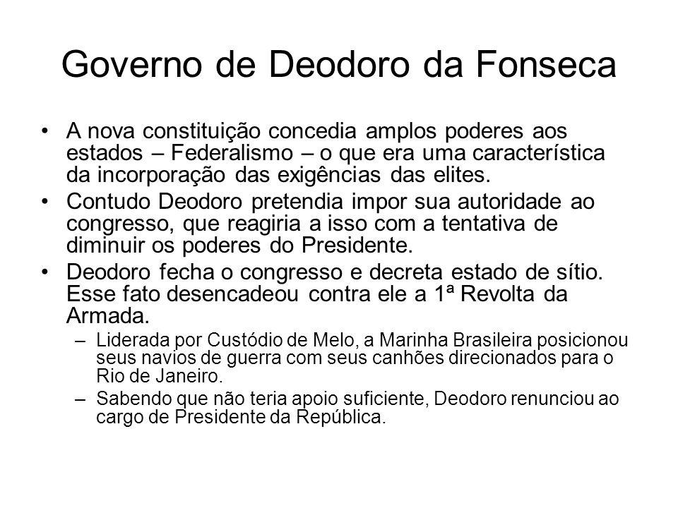 Governo de Deodoro da Fonseca