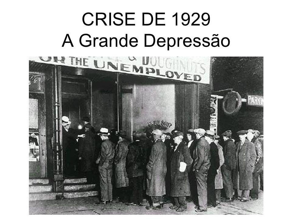 CRISE DE 1929 A Grande Depressão