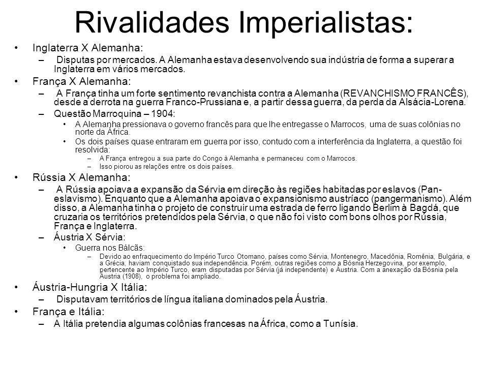 Rivalidades Imperialistas: