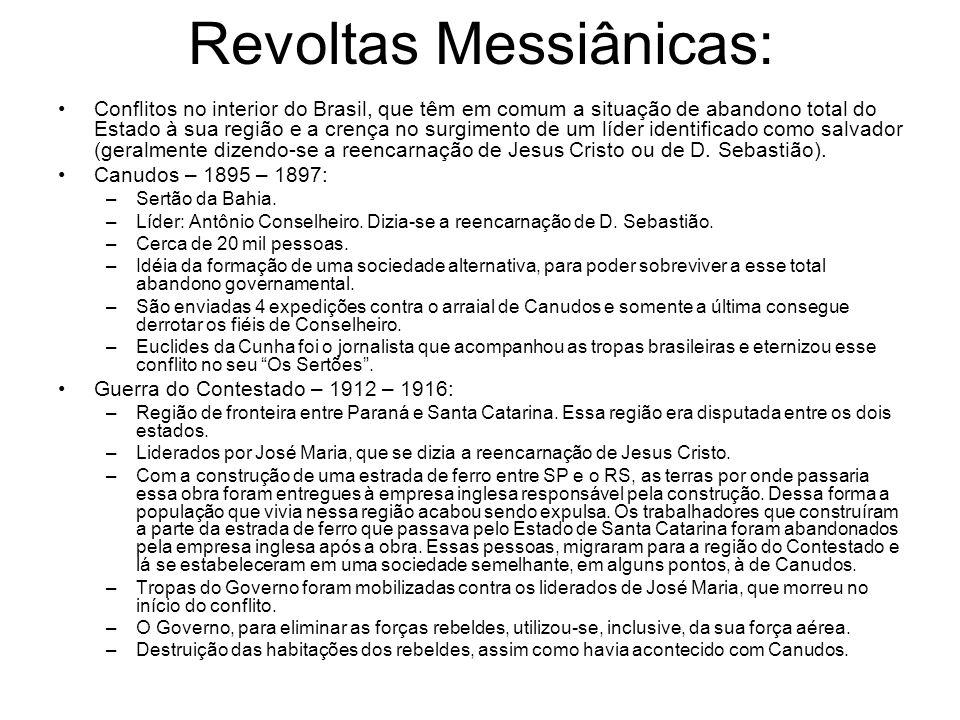 Revoltas Messiânicas: