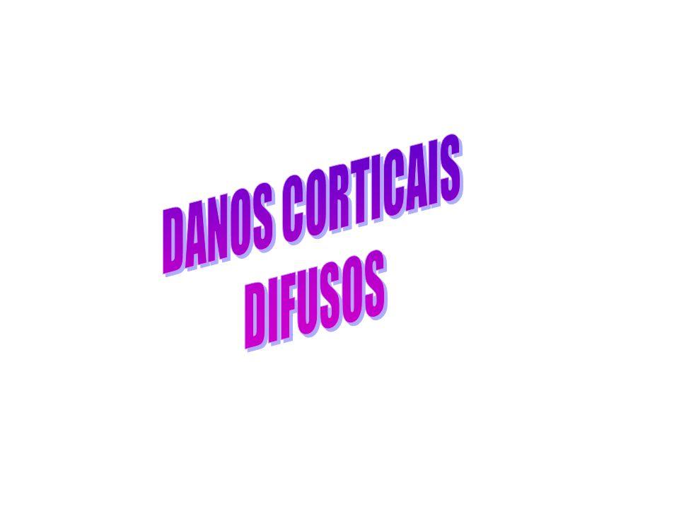 DANOS CORTICAIS DIFUSOS