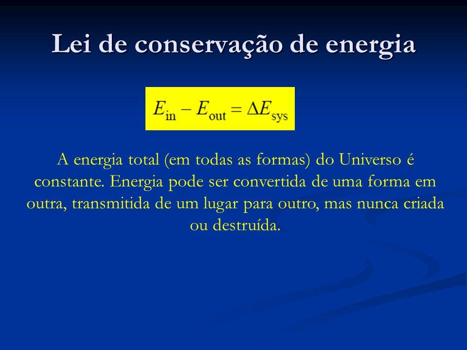 Lei de conservação de energia