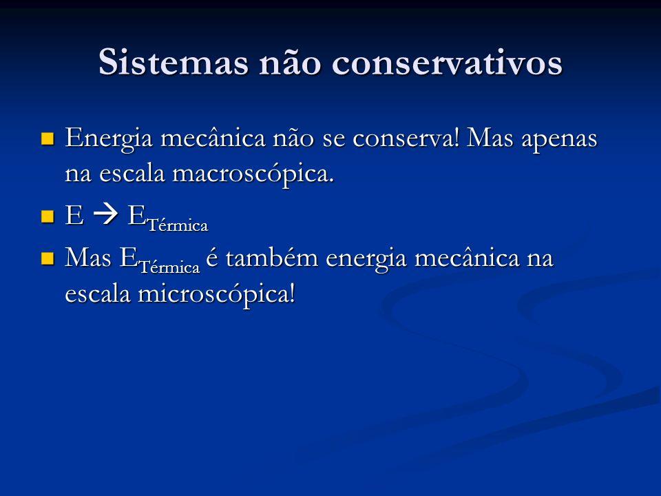 Sistemas não conservativos