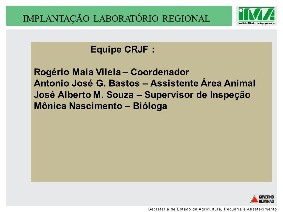 IMPLANTAÇÃO LABORATÓRIO REGIONAL