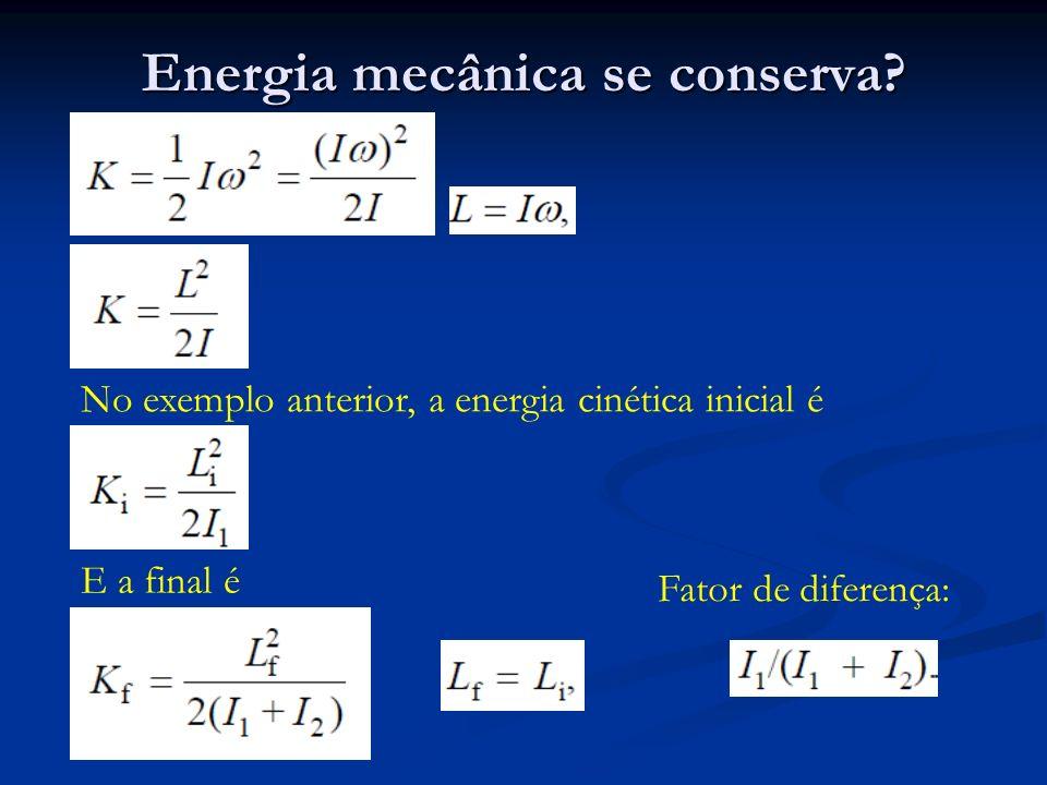 Energia mecânica se conserva