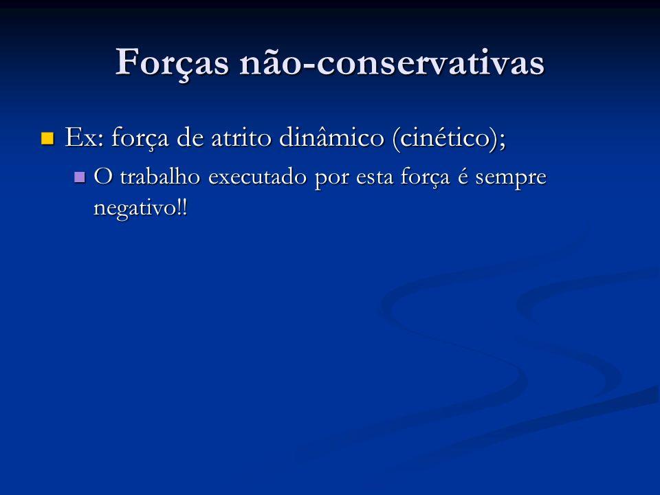 Forças não-conservativas