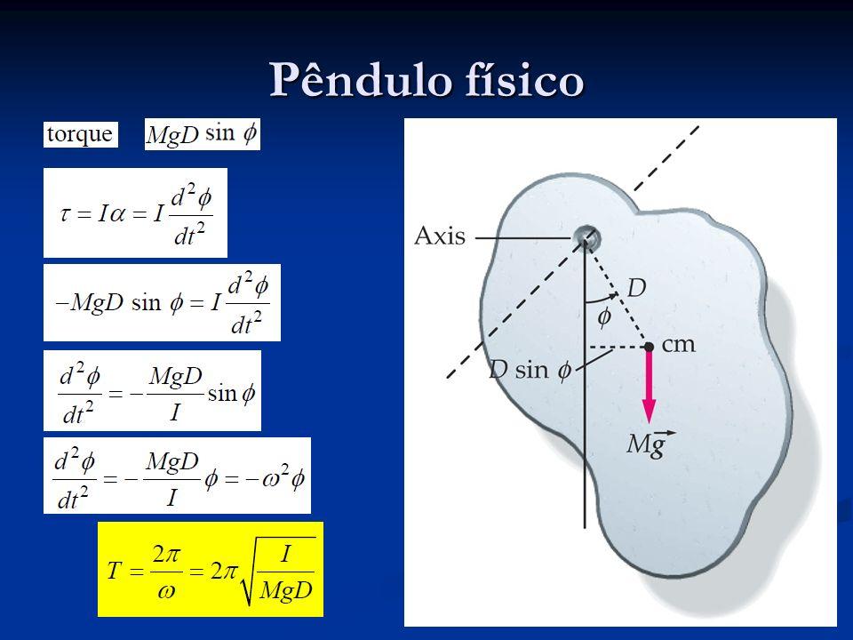 Pêndulo físico