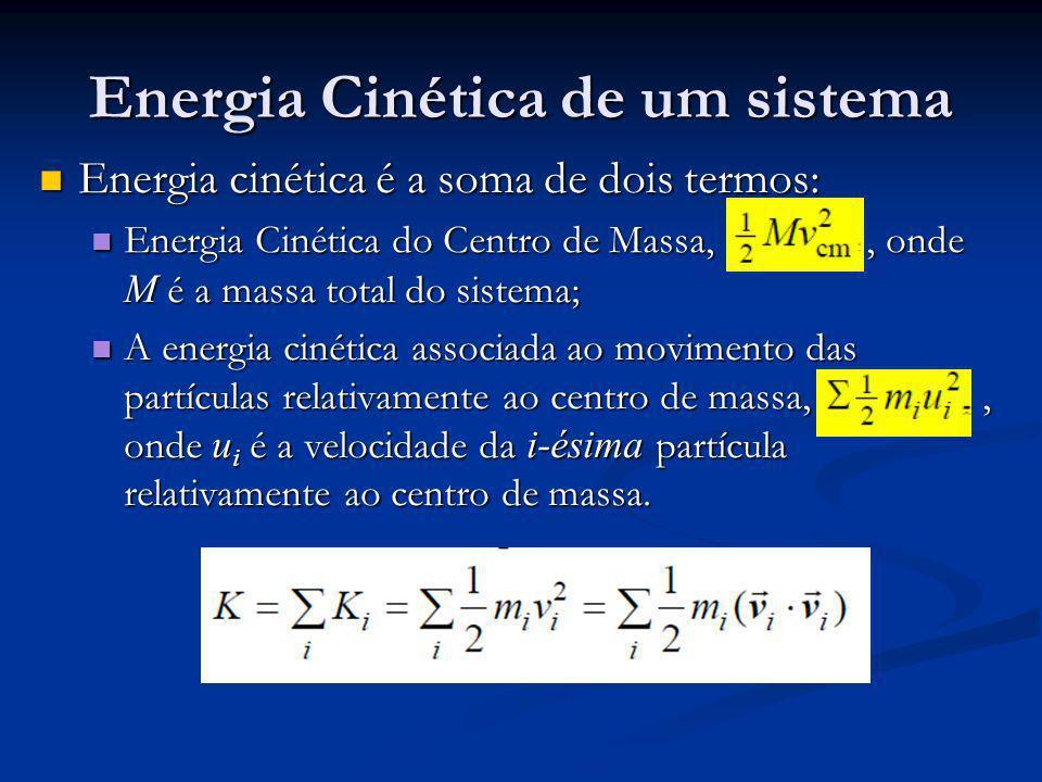 Energia Cinética de um sistema