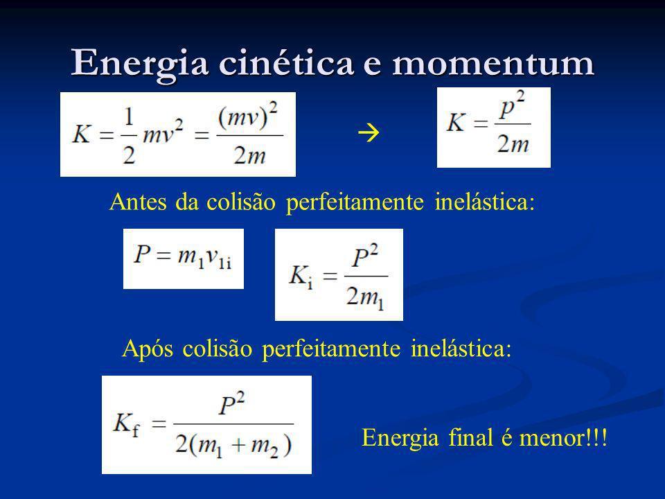Energia cinética e momentum