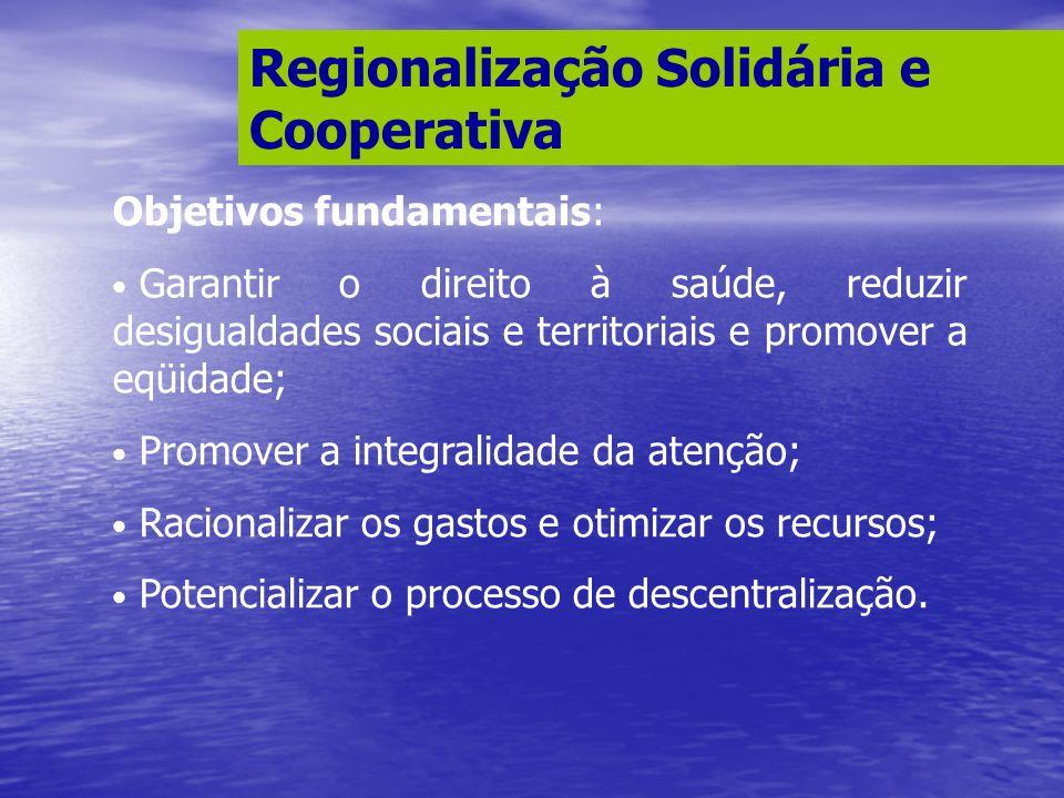 Regionalização Solidária e Cooperativa